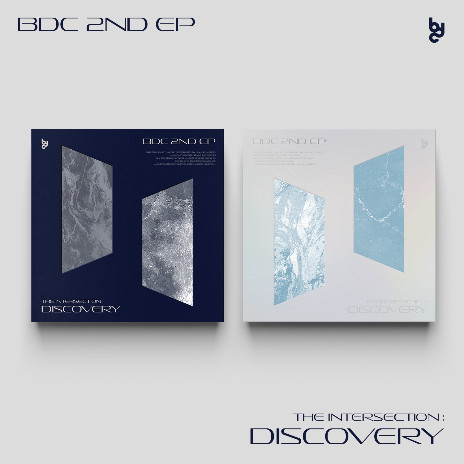 BDC - EP Album [THE INTERSECTION : DISCOVERY] (2CD SET)케이팝스토어(kpop store)