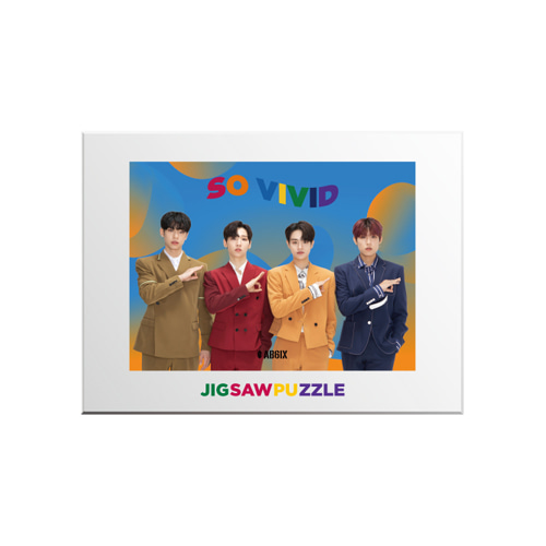AB6IX - SO VIVID JIGSAW PUZZLE케이팝스토어(kpop store)
