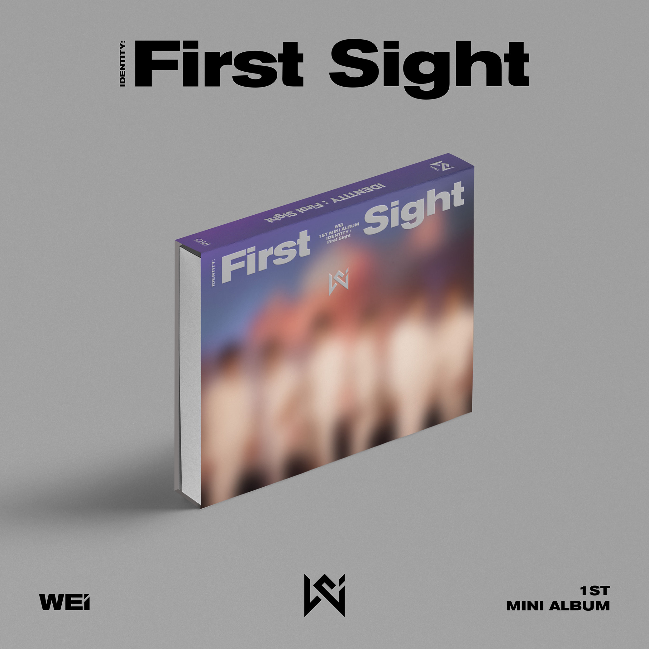 WEi - Mini Album Vol. 1 [IDENTITY : First Sight] (WE Ver.)케이팝스토어(kpop store)