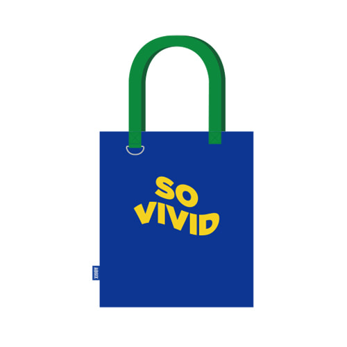 AB6IX - SO VIVID CANVAS BAG케이팝스토어(kpop store)