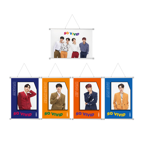 AB6IX - SO VIVID FABRIC POSTER케이팝스토어(kpop store)