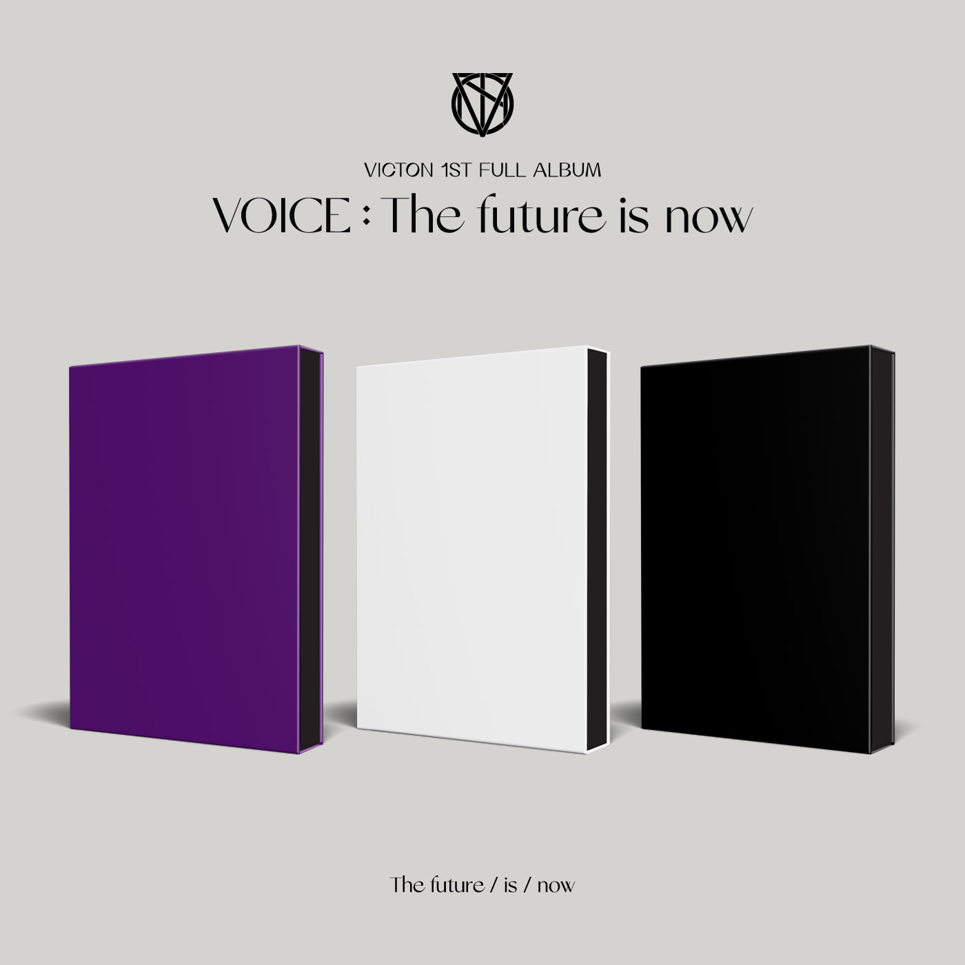 [PRE-ORDER] VICTON - Album Vol.1 [VOICE : The future is now] (The future ver.+ now ver.+is ver.)(3CD SET)케이팝스토어(kpop store)