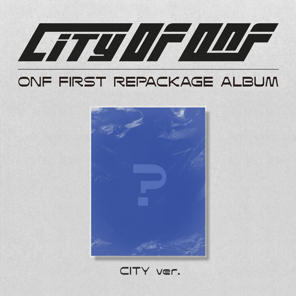 [PRE-ORDER] 온앤오프(ONF) - REPACKAGE ALBUM [CITY OF ONF] (CITY ver.)케이팝스토어(kpop store)