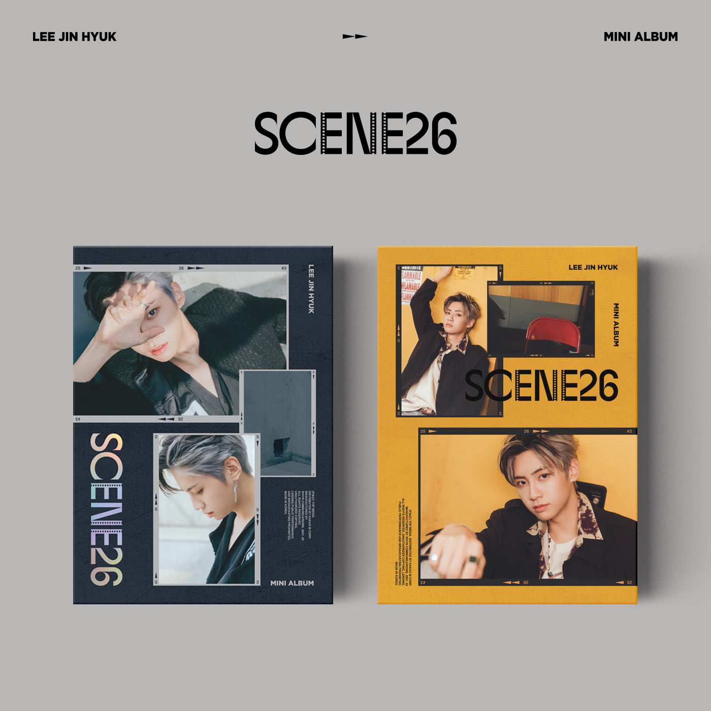이진혁(LEE JIN HYUK) - Mini Album [SCENE26] (REEL ver.+ ROLL ver. = 2CD SET)케이팝스토어(kpop store)