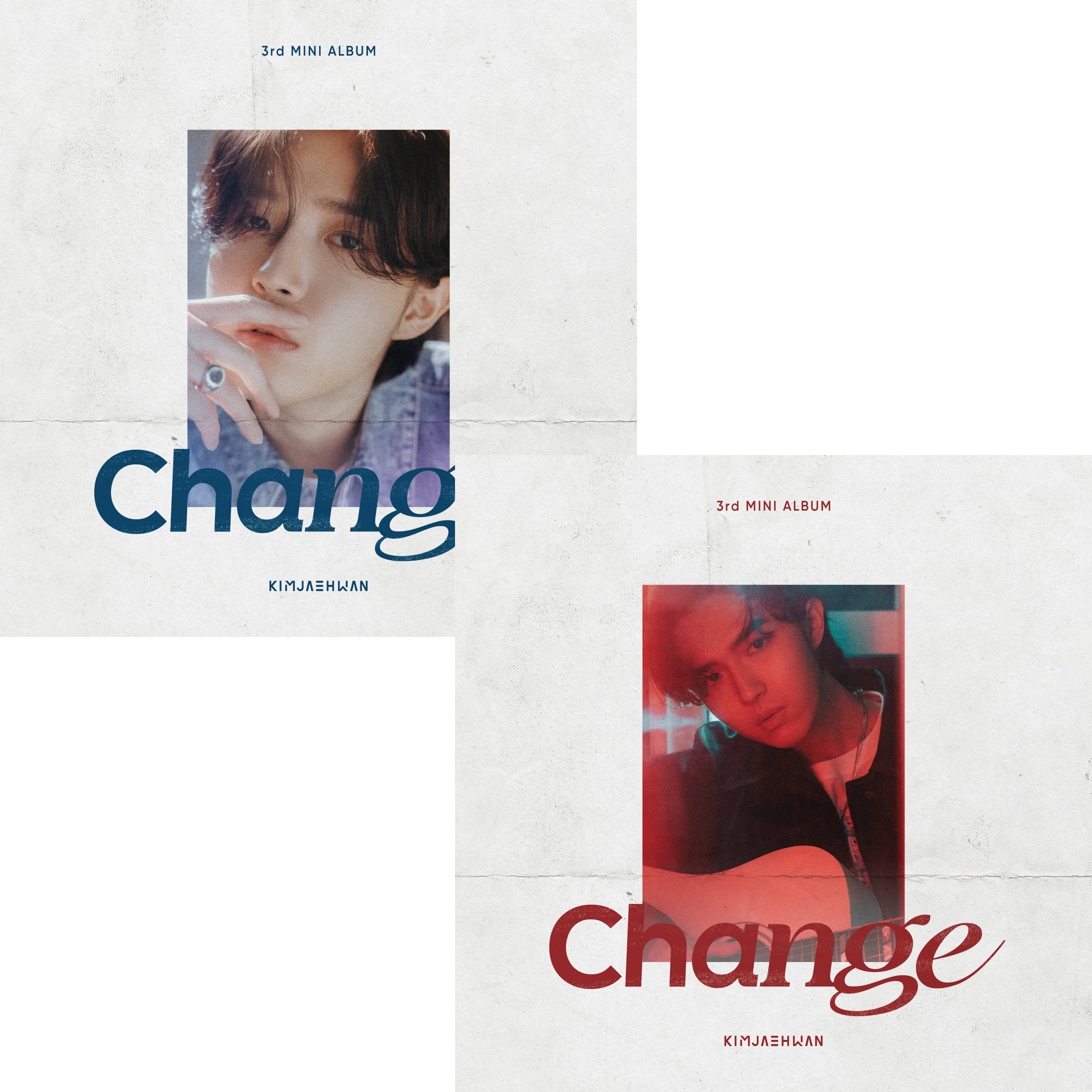 [PRE-ORDER] 김재환(KIM JAE HWAN) - 3rd MINI ALBUM 3집 [Change] (2CD SET = ing Ver. + ed Ver.)케이팝스토어(kpop store)