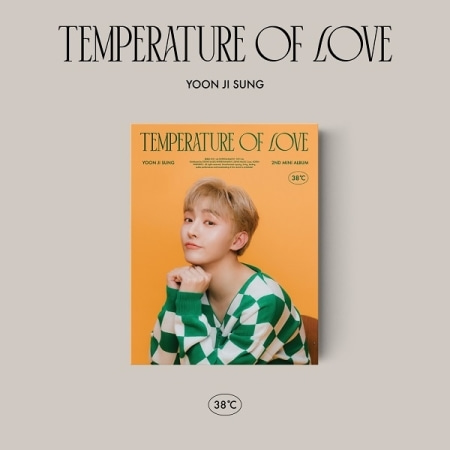 [PRE-ORDER] 윤지성(Yoon Ji Sung) - 2ND MINI ALBUM [Temperature of Love] (38℃ ver.)케이팝스토어(kpop store)
