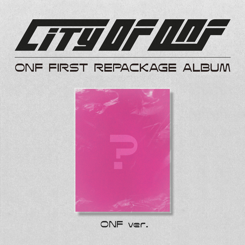 [PRE-ORDER] 온앤오프(ONF) - REPACKAGE ALBUM [CITY OF ONF] (ONF ver.)케이팝스토어(kpop store)